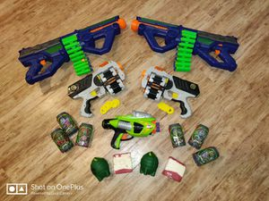 Nerf guns with darts and targets for Sale in Las Vegas, NV