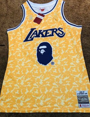 Bape Lakers jersey for Sale in Bellflower, CA