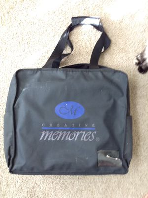 Creative Memories heavy duty canvas bag for Sale in Everett, WA