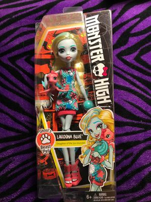 Monster High Doll Lagonna Blue Ghouls Beast Pet for Sale in Incline Village, NV
