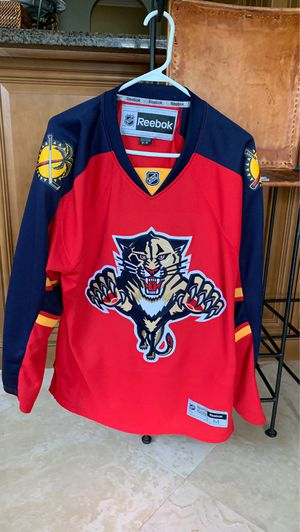 Reebok Panther Jersey for Sale in Plantation, FL