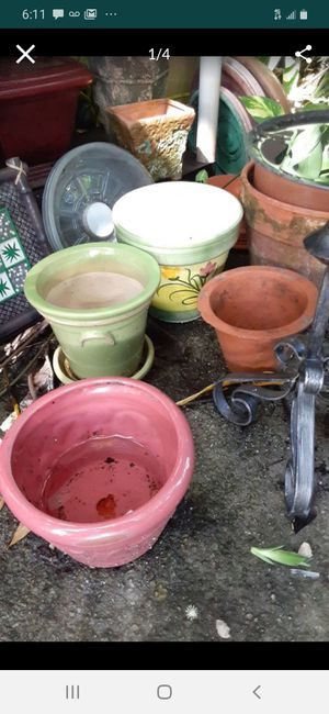 House Plant Ceramic Pots for Sale in Fort Lauderdale, FL