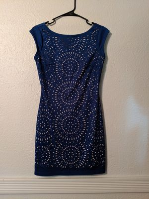 CHELSEA & VIOLET Navy blue cocktail dress for Sale in Temperance, MI