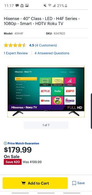 Hisense TV for Sale in Fontana, CA