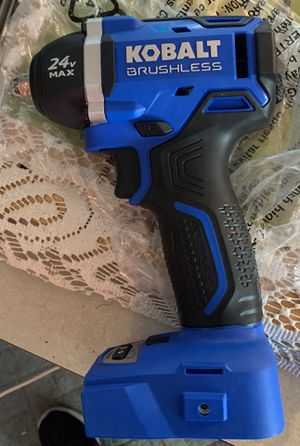 24v Kobalt impact wrench Tool Only! for Sale in Tacoma, WA