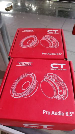 """Ct sound tropo pro audio 6.5"""" for Sale in Pomona, CA"""
