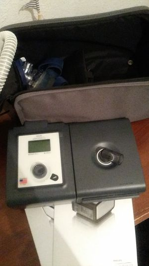 Philips resperonics bipap/cpap system one heated humidifier machine for Sale in Las Vegas, NV