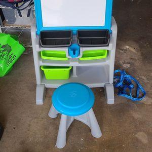 Toddler Desk/ Easel for Sale in Lakeside, CA