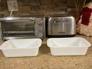 Pyrex Milk White Glass Loaf Pans Set of 2 for Sale in Pembroke Pines, FL