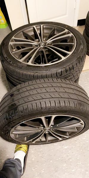 5x100 17s RIMS AND TIRES for Sale in Brockton, MA