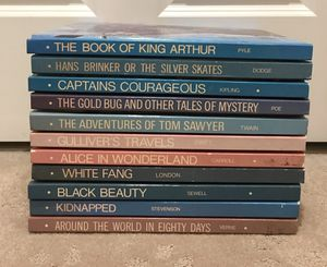 Educated Classic Library Book Set of 11 Volumes Hard Cover 1970 Clean Excellent for Sale in Blackstone, MA