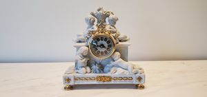 Antique French Porcelain clock for Sale in Miami, FL
