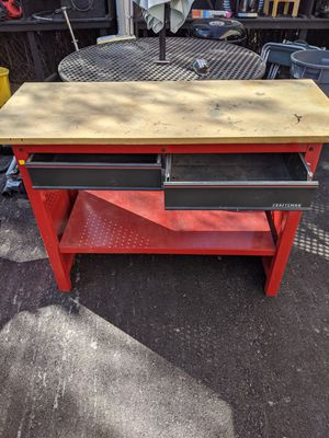 Craftsman work table for Sale in Tucson, AZ