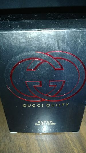Perfume Gucci guilty black 2.5 oz for Sale in St. Louis, MO