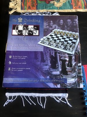 Shot Glass Chess Set for Sale in Clovis, CA