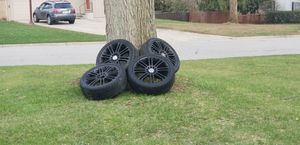 """Enkei 18"""" rims with Kumho Ecsta summer performance tires 225/40 size for Sale in Columbus, OH"""