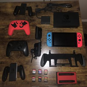Nintendo Switch Console & Accessories for Sale in Los Angeles, CA