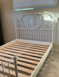 Ikea FULL Double Sz Size Bedframe Bed Frame (Mattress EXTRA $80) for Sale in Montebello,  CA