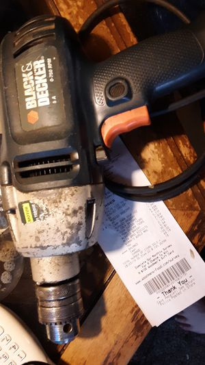 Black & Decker 1/2 corded drill for Sale in Neenah, WI
