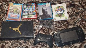 Wii U with games for Sale in Pawtucket, RI
