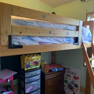 Twin Size Loft bed for Sale in Buckley, WA