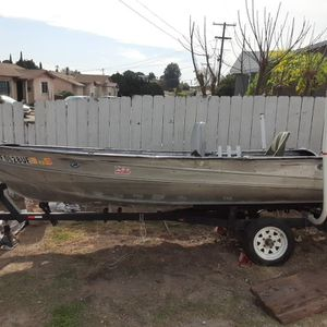 14 Ft Aluminum Jon Boat for Sale in San Diego, CA