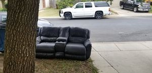 Free recliner couch with storage compartment for Sale in San Antonio, TX