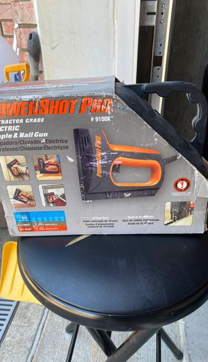 Powershot Pro electric staple gun for Sale in Staten Island, NY