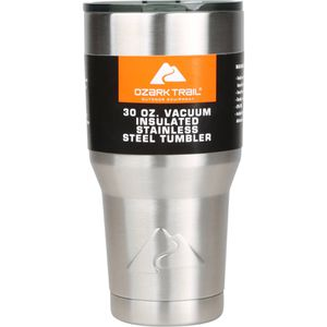 Ozark Trail 30-Ounce Double-Wall, Vacuum-Sealed Stainless Steel Tumbler for Sale in Houston, TX