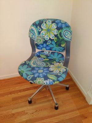 Floral Herman Miller Swivel Chair for sale for Sale in St. Louis, MO