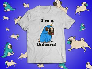 Pug Lovers Pugicorn Shirt for Sale in Pittsburgh, PA