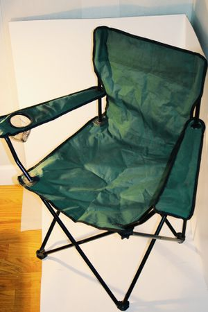 Green Steel Camping Chair for Sale in Linden, NJ