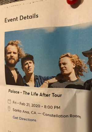 Palace- The life after tour for Sale in Santa Fe Springs, CA