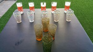Antique vintage glassware fine china novelty cups coca cola from the 60s and 70s for Sale in Chula Vista, CA