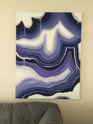 2x3' Geode Painting - Original for Sale in San Diego, CA