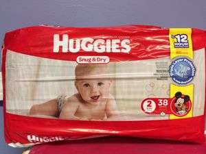 Huggies Snug & Dry size 2 for Sale in Bloomfield, CT