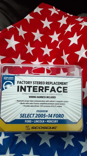 Factory stereo replacement interface for Sale in Snohomish, WA