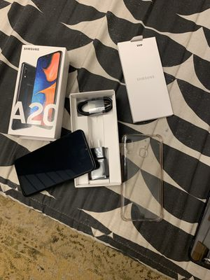 Samsung galaxy A20 Metro Pcs w/ box and charger for Sale in Kennesaw, GA