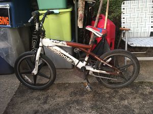 20 inch mongoose BMX bike only $80 firm for Sale in MD, US