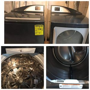 Large Capacity GE Profile Electric Washer and Dryer for Sale in Sterling, VA