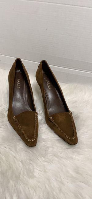 RARE Lauren Ralph Lauren Mira Loafer Heels for Sale in Dearborn, MI