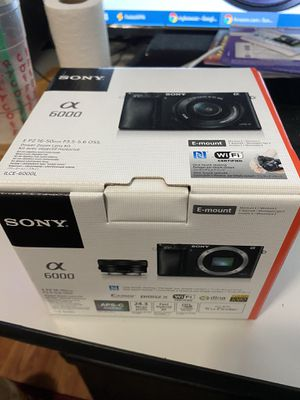 New Sony Alpha a6000 Mirrorless Digital Camera $400 for Sale in Stockton, CA