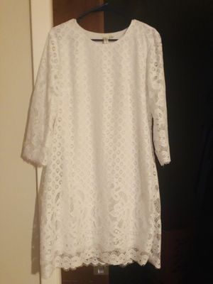 White Lace Dress for Sale in Winter Haven, FL