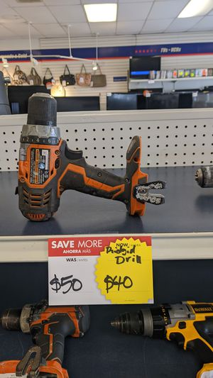 Ridgid Drill for Sale in Houston, TX