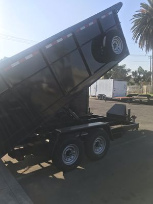 Today Special 8.5x14x4 dump trailer for Sale in Los Angeles, CA