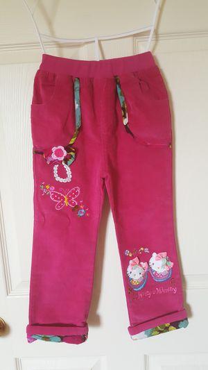 Hello kitty 4-5T cute girls pants for Sale in Ypsilanti, MI