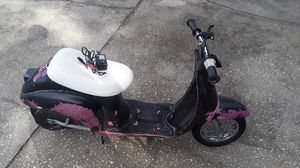 Razor Pocket Mod Scooter with battery and charger. Works perfectly. Just needs tires inflated. for Sale in Wesley Chapel, FL