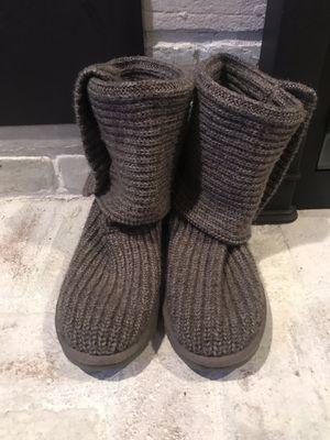 UGG Women's Classic Cardy Boot Wool Blend In Grey, Size 8 for Sale for sale  Warren, NJ