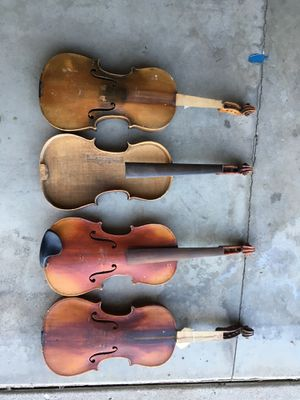 old project violins for Sale in West Covina, CA