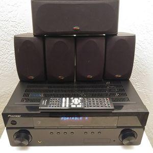 Pioneer/Polk Sound 5.1 Surround Sound System for Sale in St. Petersburg, FL